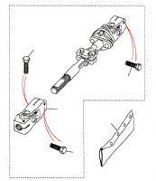 Steering Shaft MA081992 Onwards